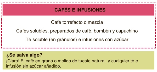 Cafe e infusiones