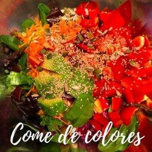 Come de colores