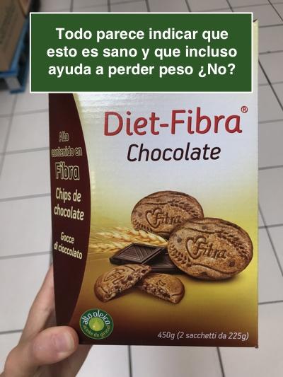 Galletas dieta