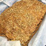Pan de avena y almendras