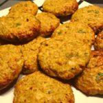 Falafel de garbanzos y coliflor