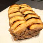 Pastel de manzana y garbanzos