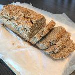 Pan de lino sin gluten